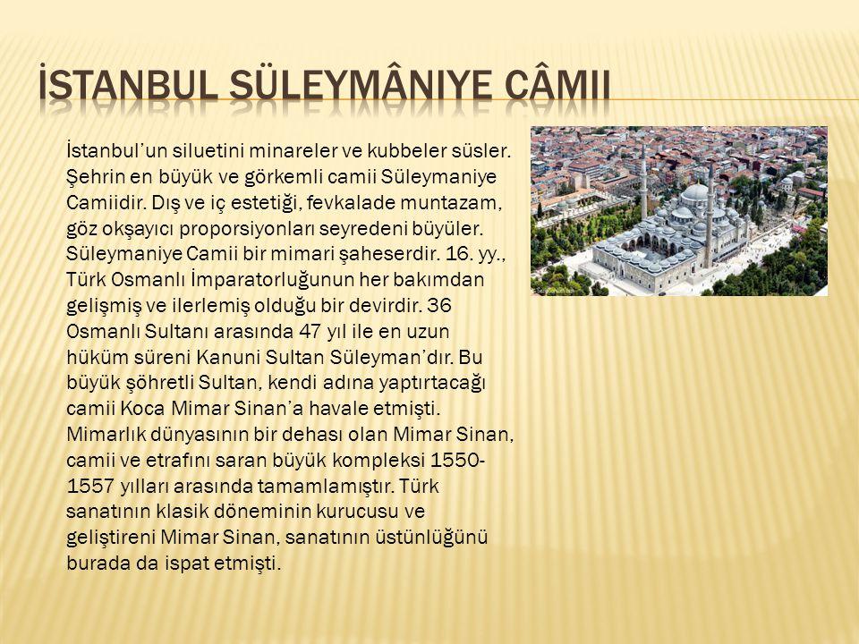 İstanbul Süleymâniye Câmii