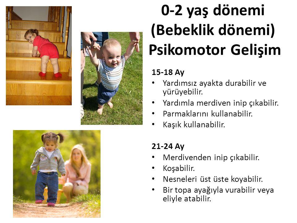0-2 yaş dönemi (Bebeklik dönemi) Psikomotor Gelişim