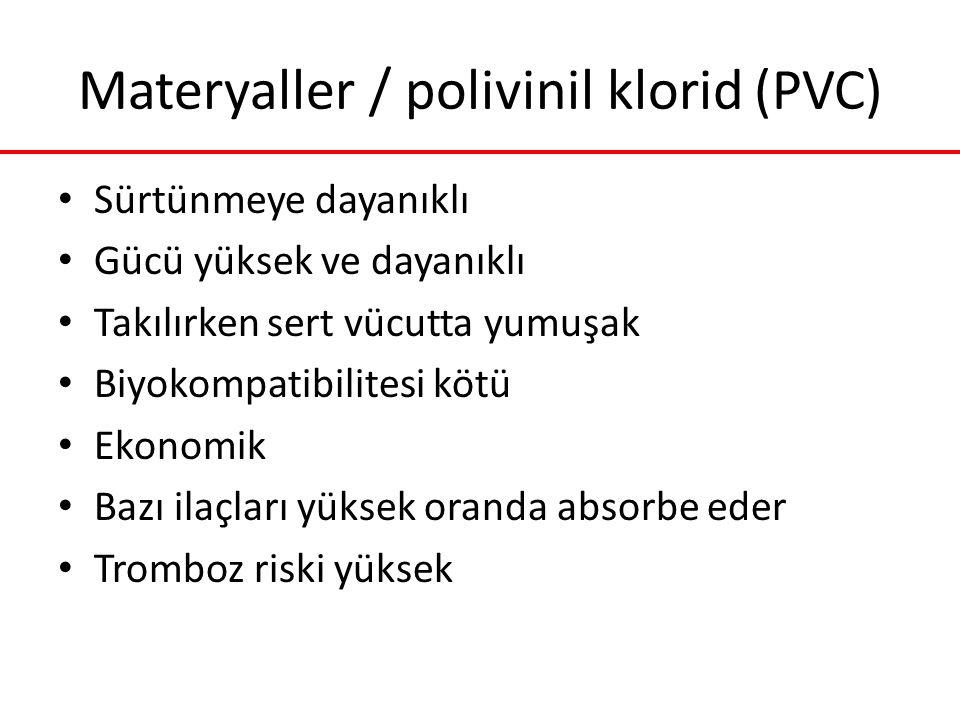 Materyaller / polivinil klorid (PVC)