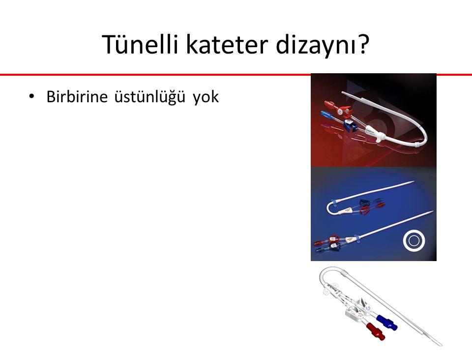Tünelli kateter dizaynı
