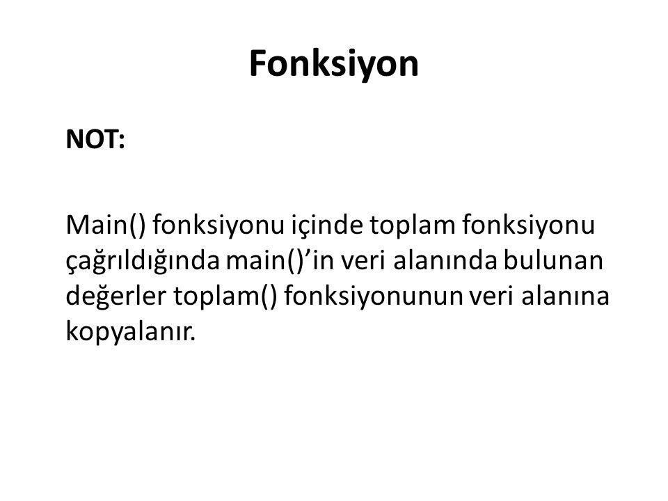 Fonksiyon