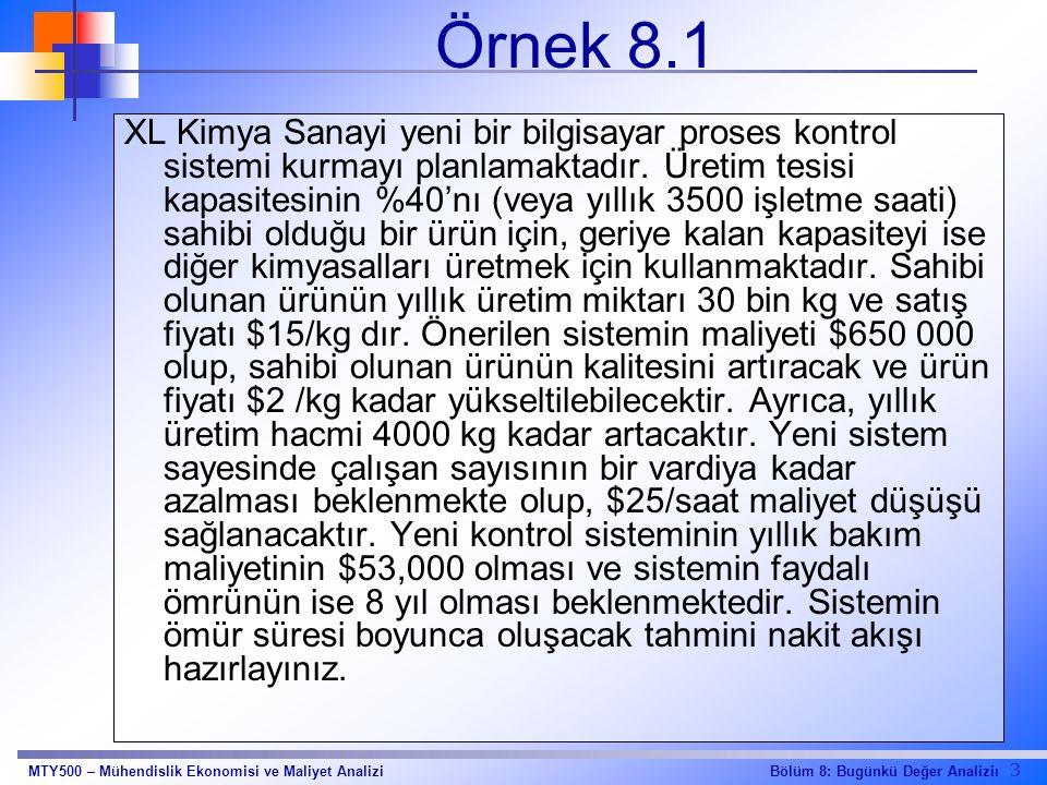 Örnek 8.1