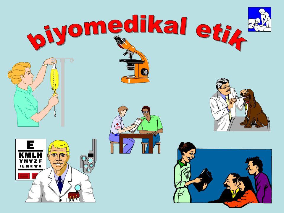 biyomedikal etik