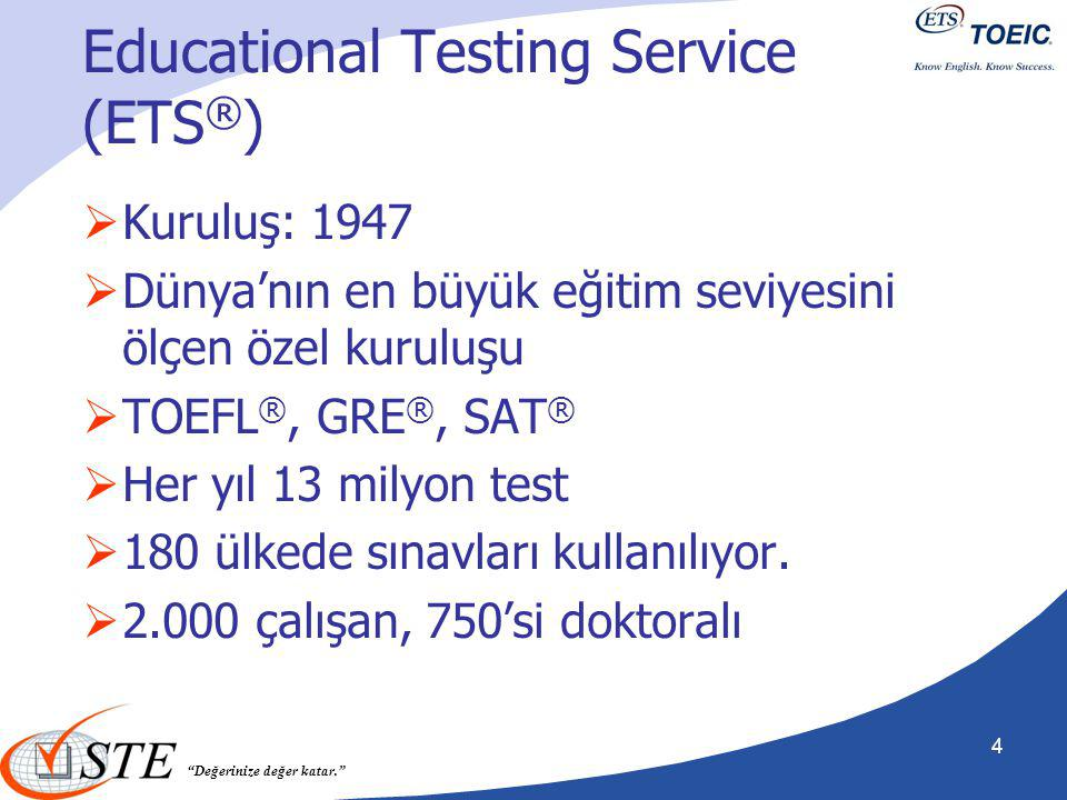 Educational Testing Service (ETS®)