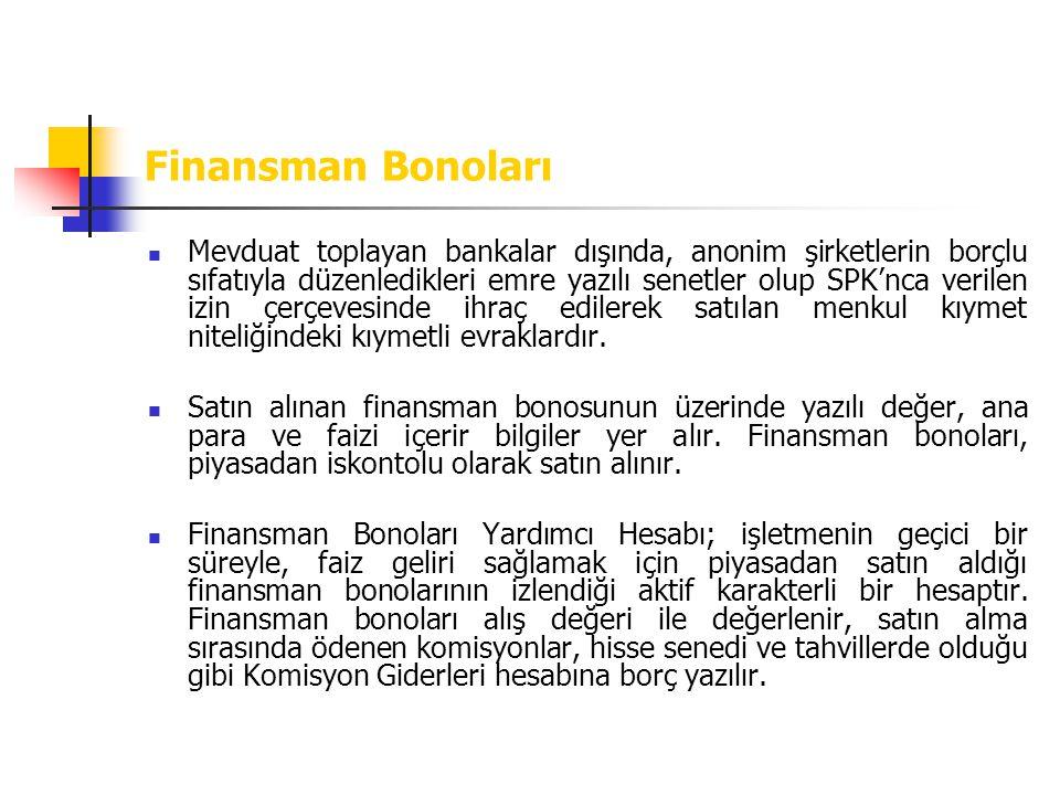 Finansman Bonoları