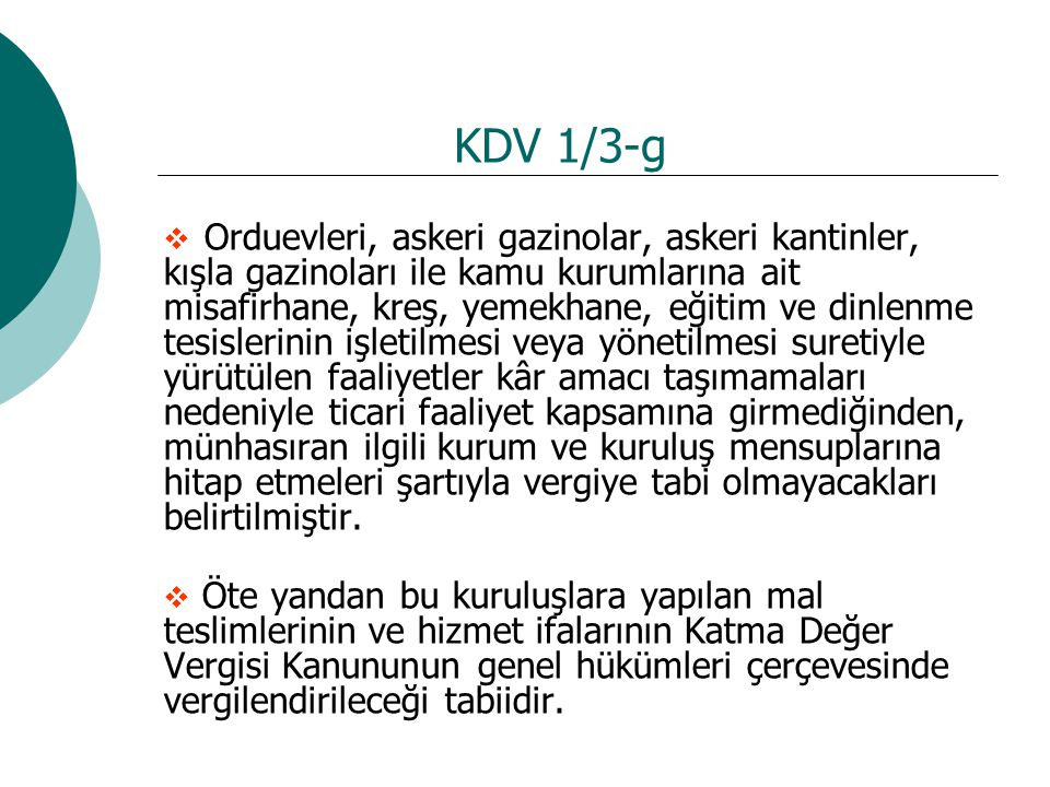 KDV 1/3-g