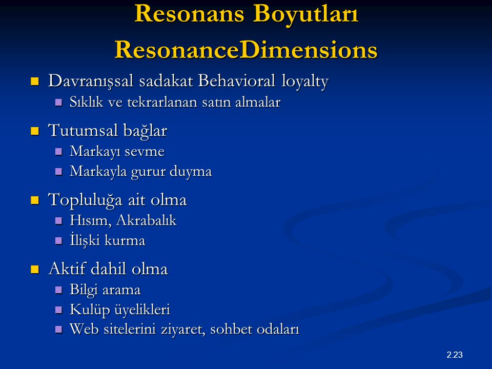 Resonans Boyutları ResonanceDimensions