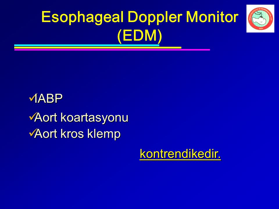 Esophageal Doppler Monitor (EDM)
