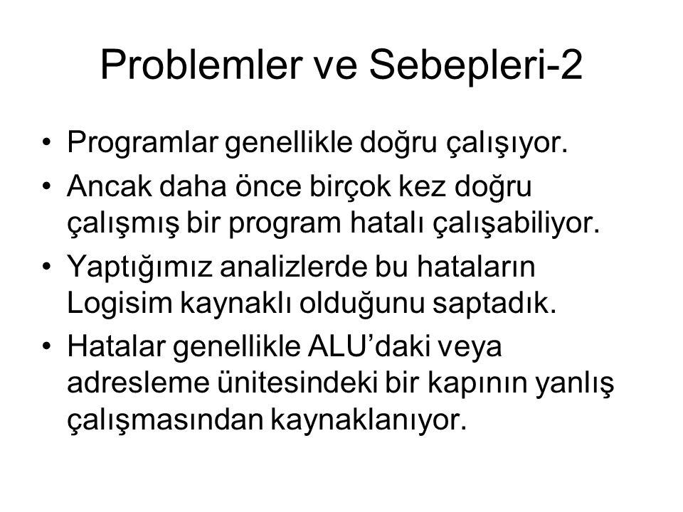 Problemler ve Sebepleri-2
