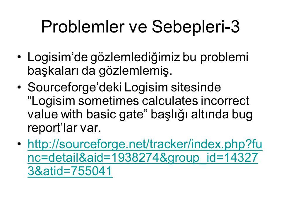Problemler ve Sebepleri-3
