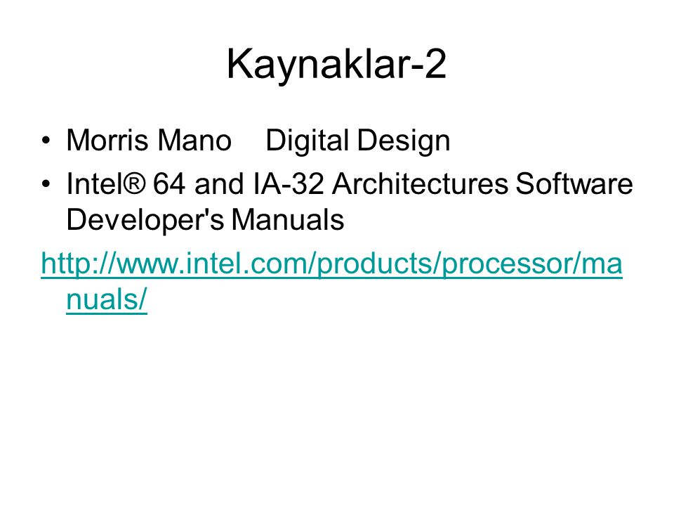 Kaynaklar-2 Morris Mano Digital Design