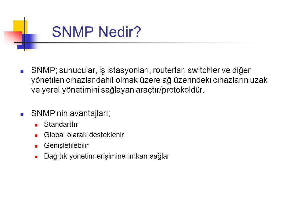SNMP Nedir
