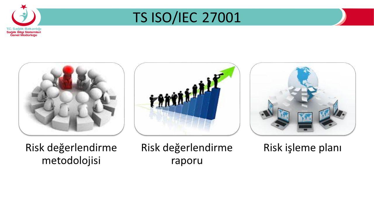 TS ISO/IEC 27001 Risk değerlendirme metodolojisi