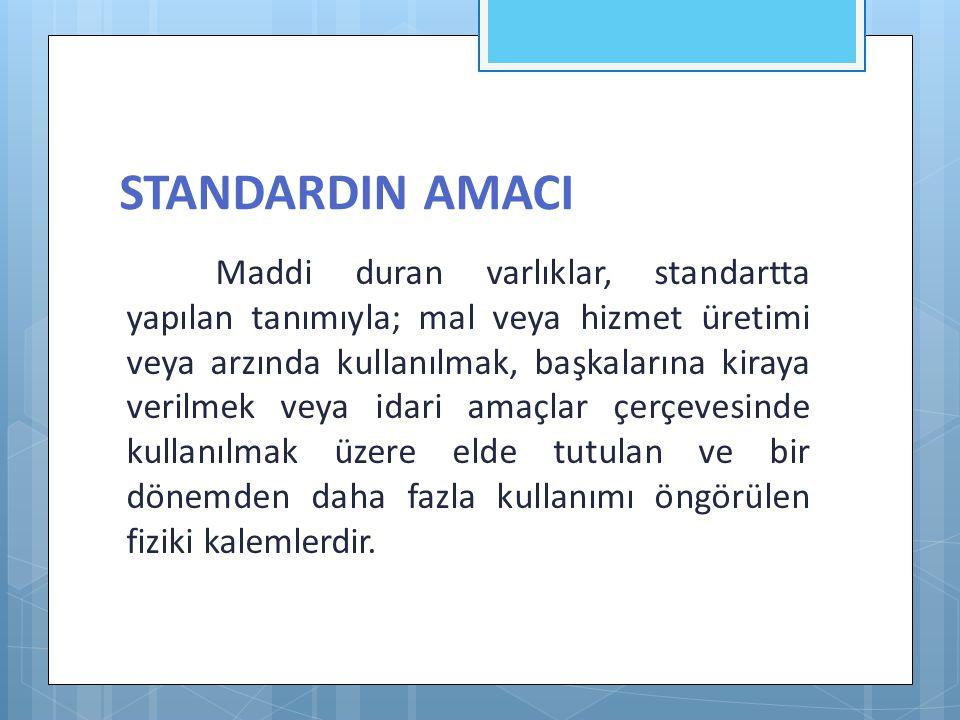 STANDARDIN AMACI