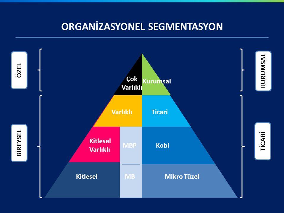 ORGANİZASYONEL SEGMENTASYON