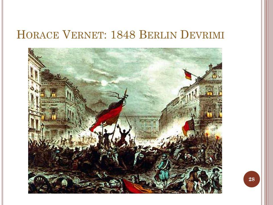 Horace Vernet: 1848 Berlin Devrimi