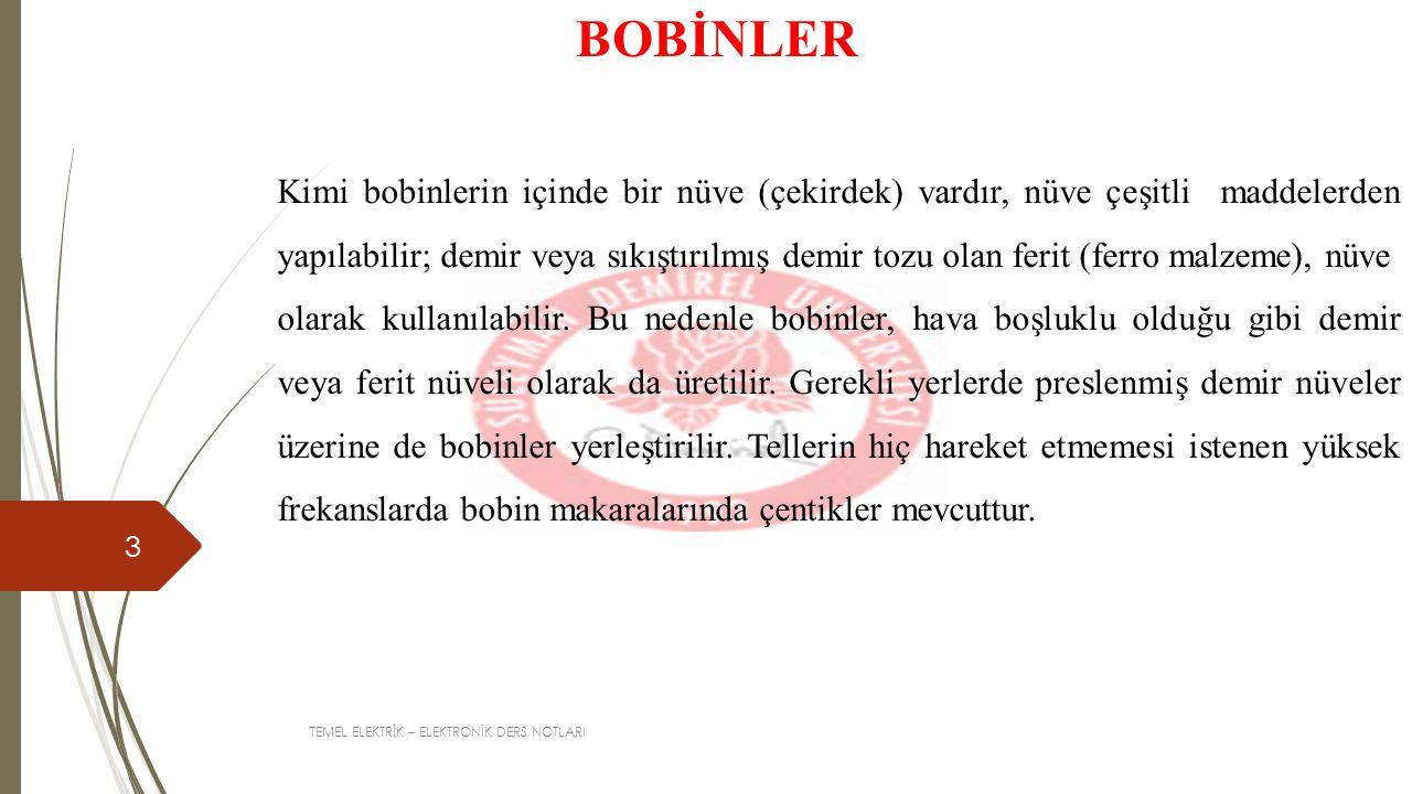 BOBİNLER