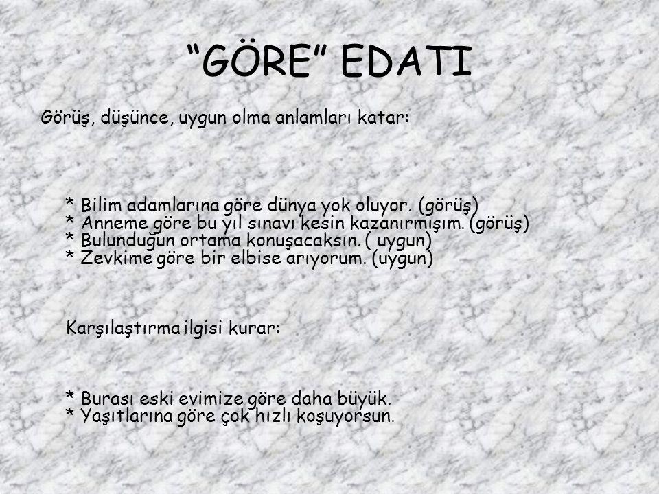 GÖRE EDATI