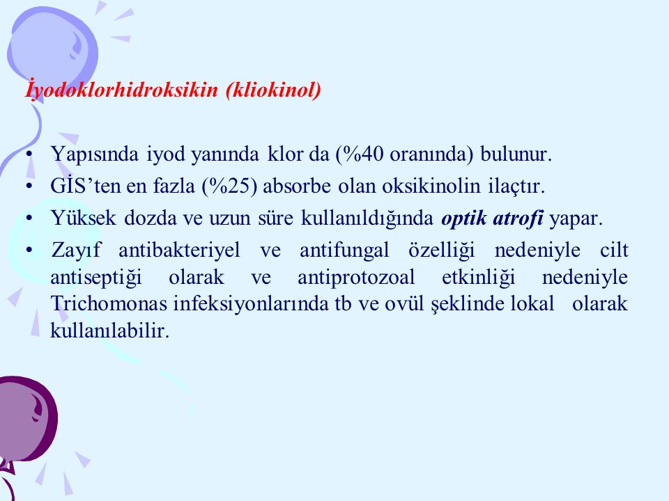 İyodoklorhidroksikin (kliokinol)
