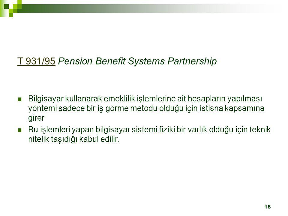 T 931/95 Pension Benefit Systems Partnership