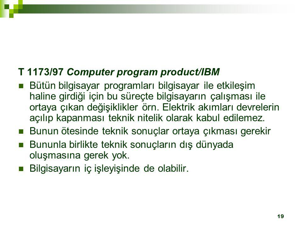 T 1173/97 Computer program product/IBM