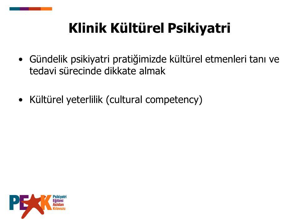 Klinik Kültürel Psikiyatri