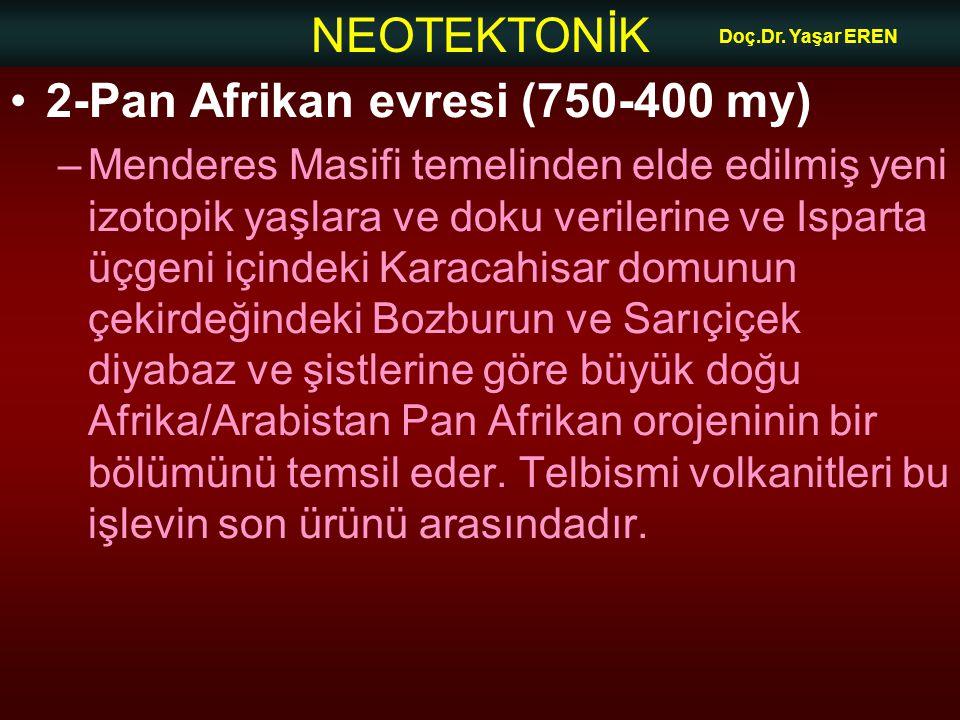 2-Pan Afrikan evresi (750-400 my)