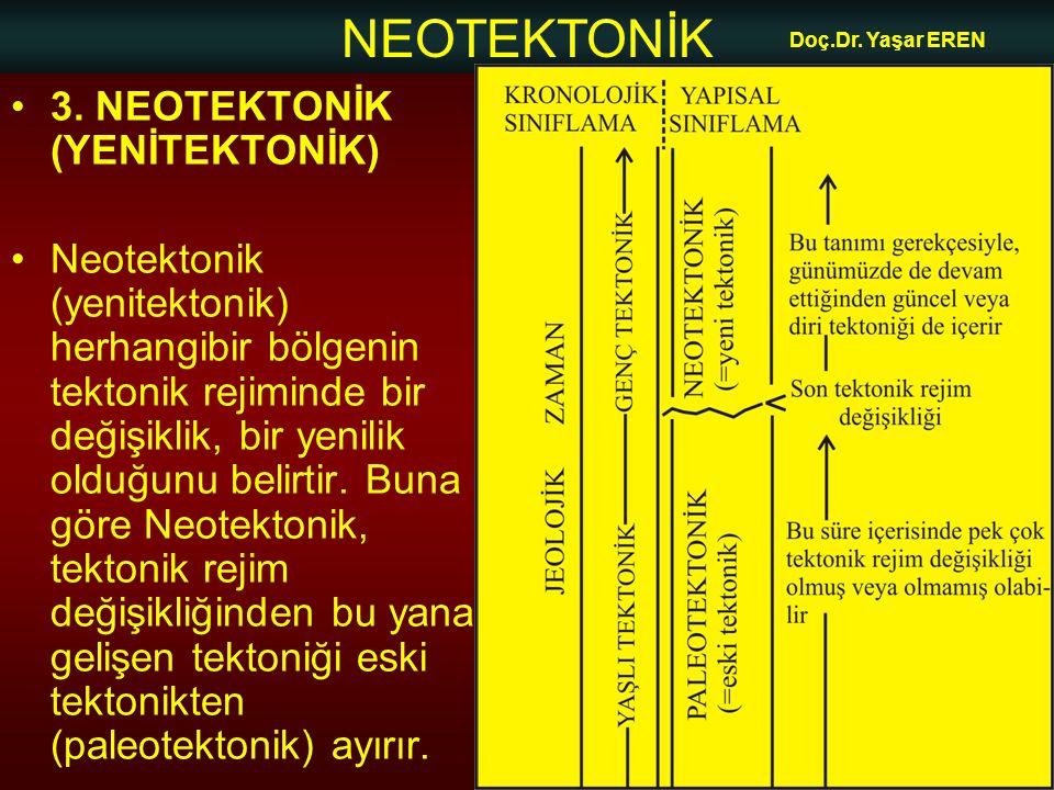 3. NEOTEKTONİK (YENİTEKTONİK)