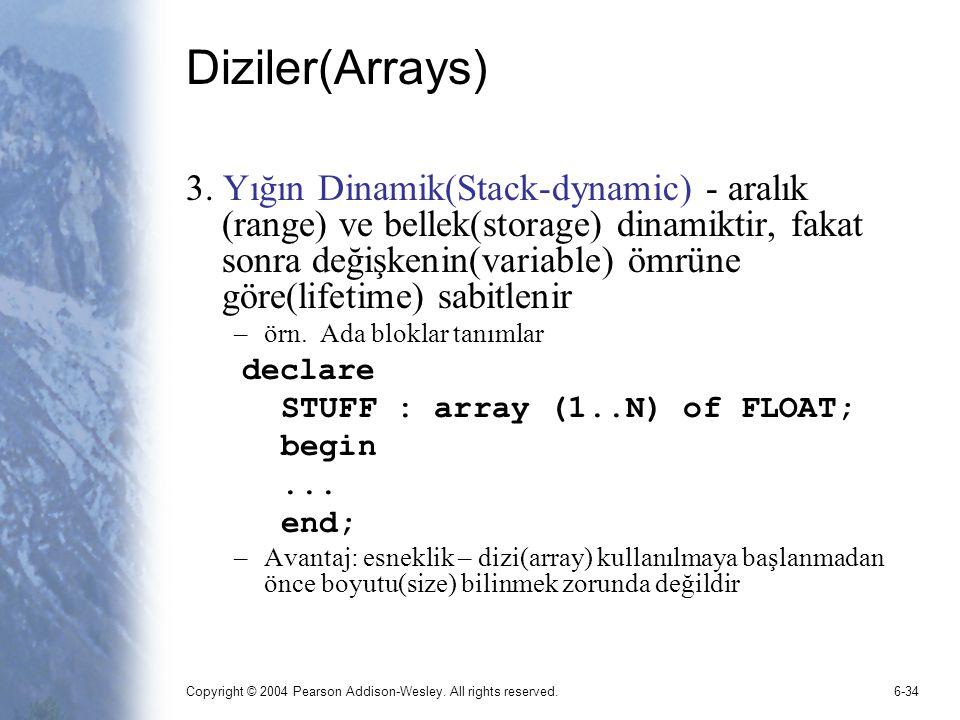 Diziler(Arrays)