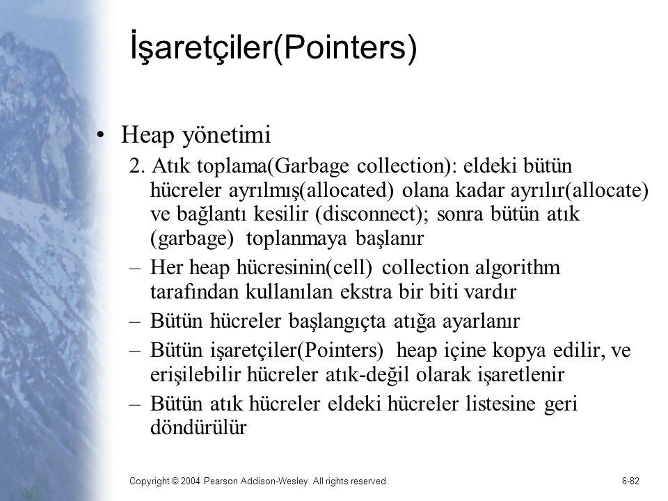 İşaretçiler(Pointers)