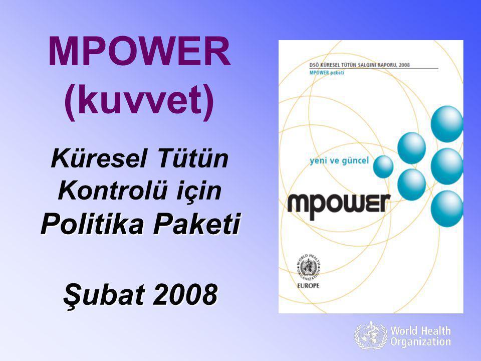 MPOWER (kuvvet) Küresel Tütün Kontrolü için Politika Paketi Şubat 2008