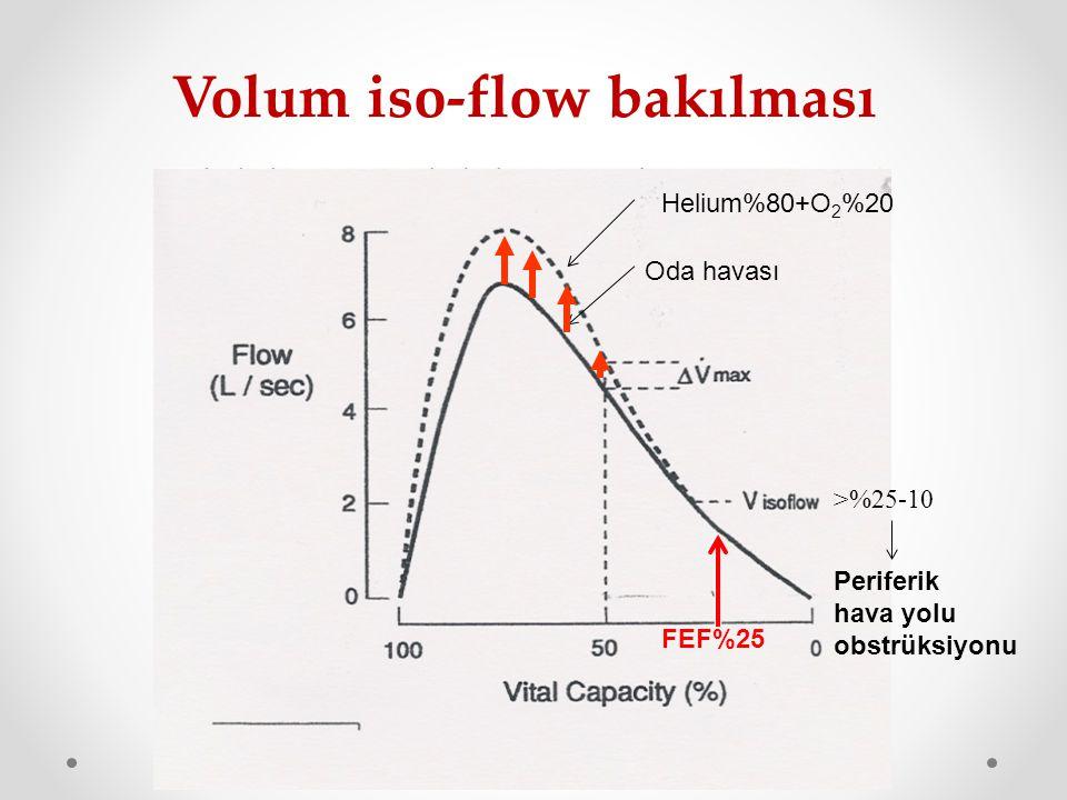 Volum iso-flow bakılması