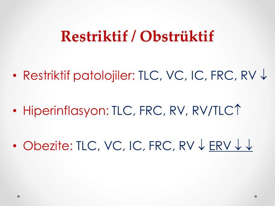Restriktif / Obstrüktif