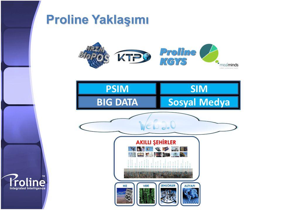 Proline Yaklaşımı BIG DATA PSIM SIM Sosyal Medya