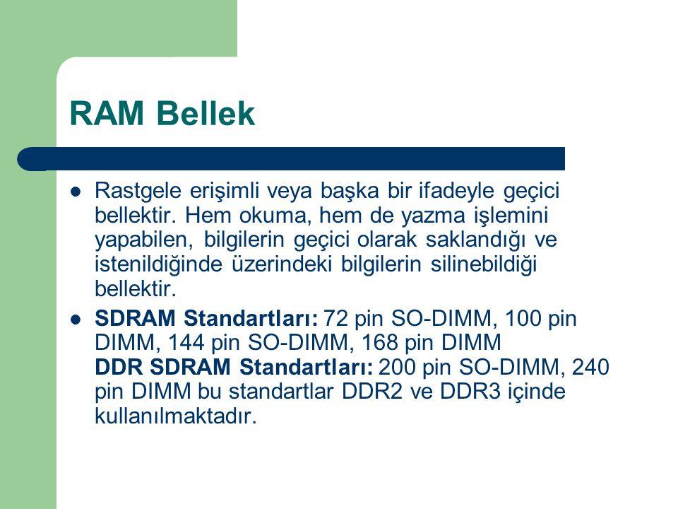 RAM Bellek