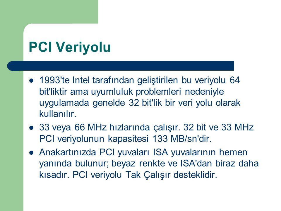 PCI Veriyolu