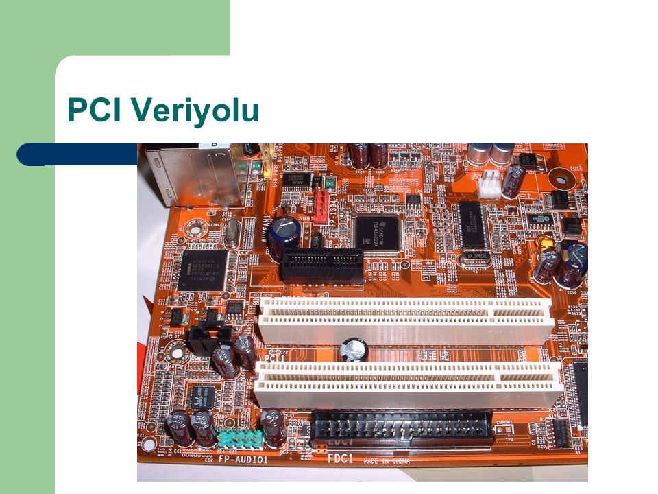 PCI Veriyolu