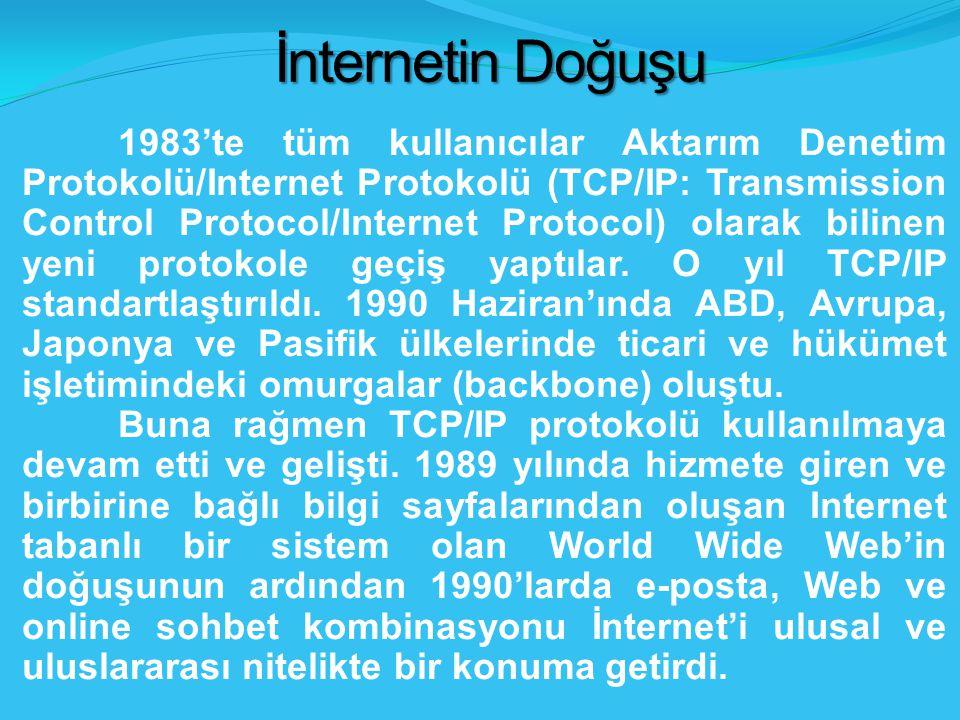 İnternetin Doğuşu