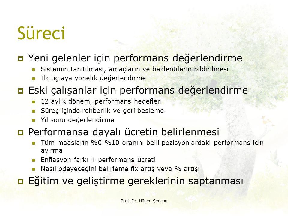 Süreci Yeni gelenler için performans değerlendirme