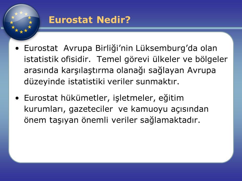 Eurostat Nedir