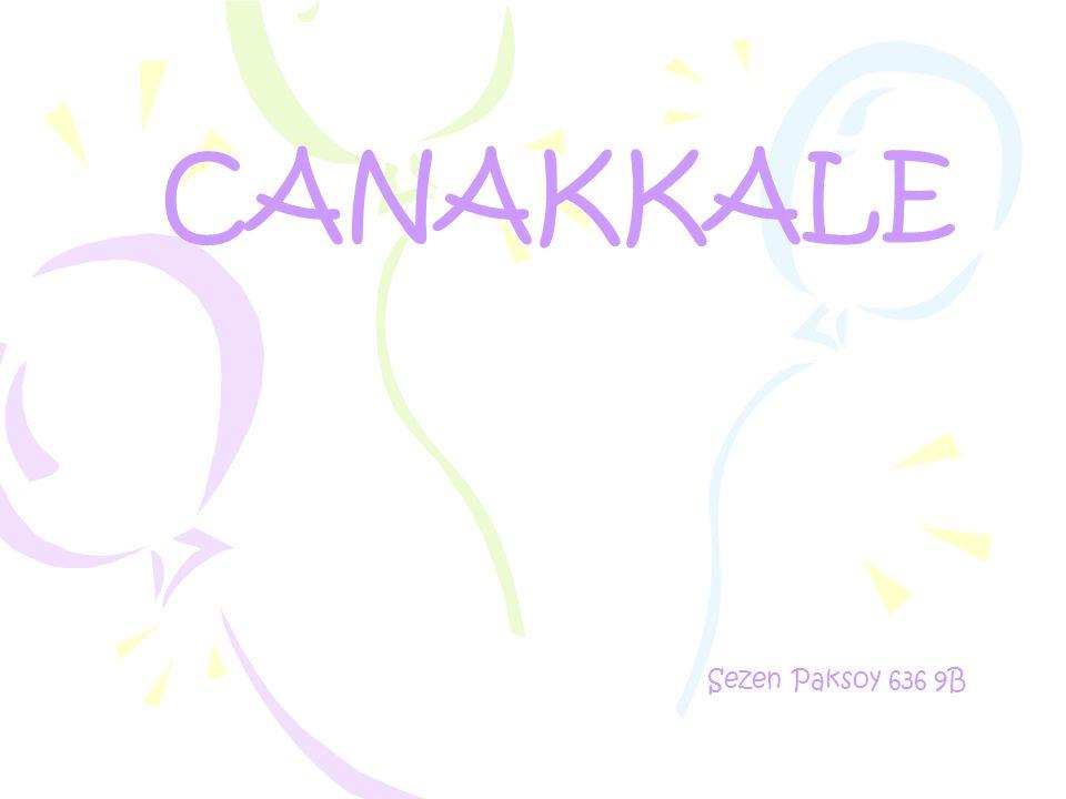 CANAKKALE Sezen Paksoy 636 9B