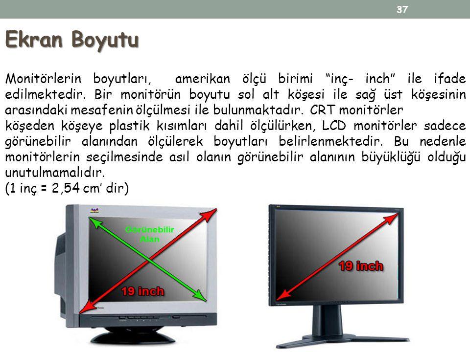 Ekran Boyutu