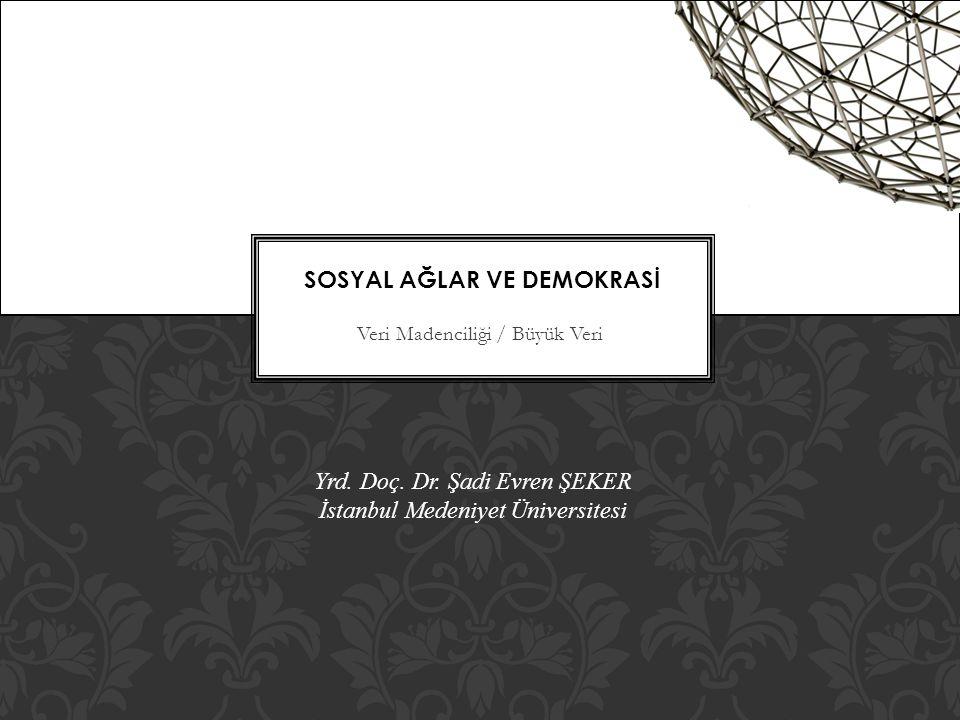 Sosyal Ağlar ve Demokrasİ