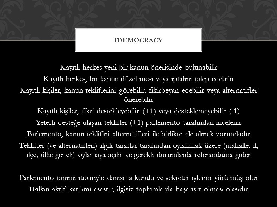 iDemocracy