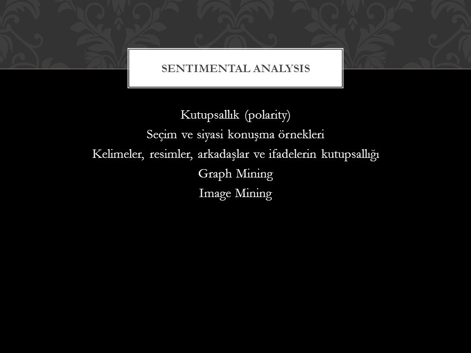 Sentimental analysis