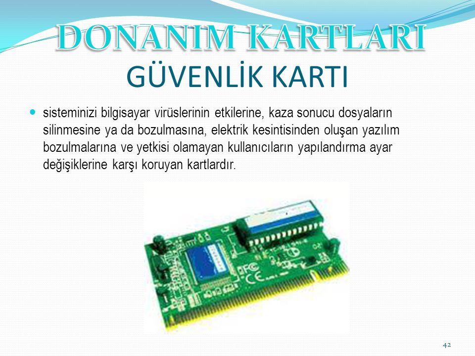 GÜVENLİK KARTI