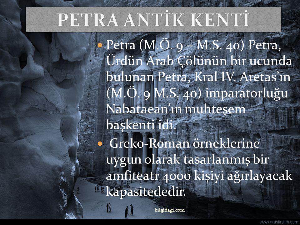PETRA ANTİK KENTİ