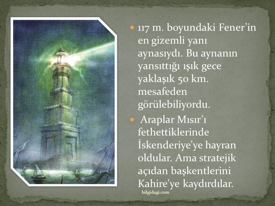 117 m. boyundaki Fener'in en gizemli yanı aynasıydı
