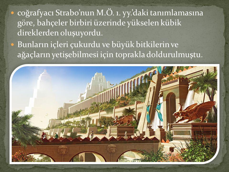 coğrafyacı Strabo'nun M. Ö. 1. yy