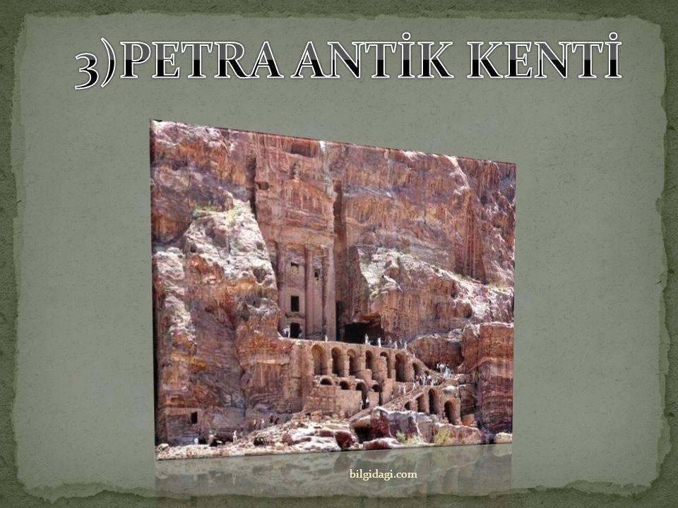 3)PETRA ANTİK KENTİ bilgidagi.com